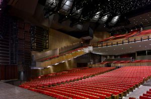 Vancouver opera: seating seen from stage
