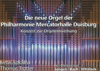 Living Concert Series: The New Organ of the Mercatorhalle Duisburg